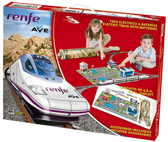 ofertas tren electrico de juguete