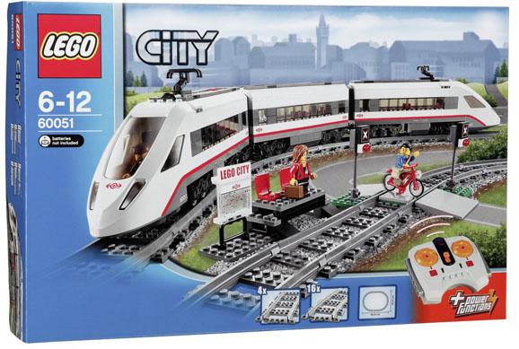 tren electrico lego