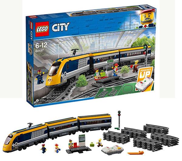 lego city tren pasajeros